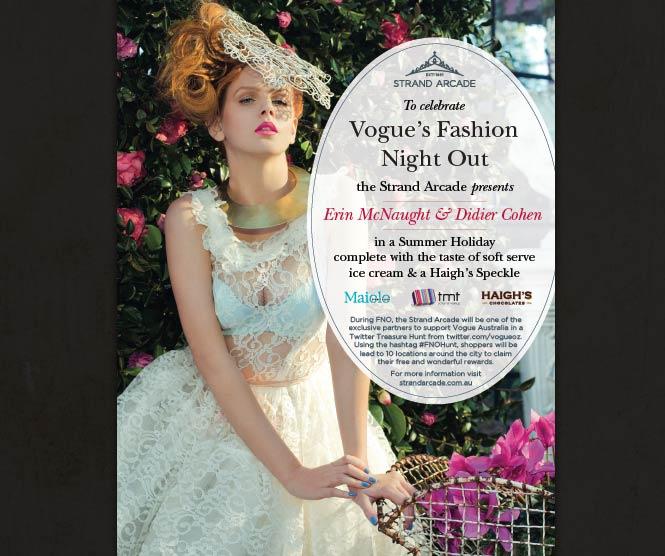 Strand Arcade Vogues Fashion Night