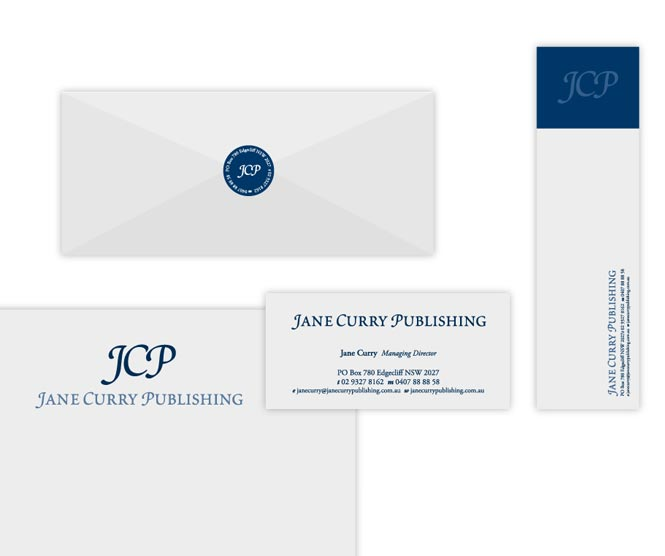 Jane Curry Publishing stationery
